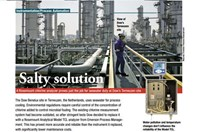 A Rosemount Chlorine Analyzer Proves Just The Job For Seawater Duty At Dow's Terneuzen Site