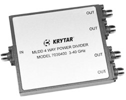 MLDD 4-Way Power Dividers: 7030400/K