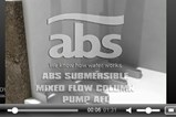 ABS Submersible Mixed Flow Column Pump AFL - Installation Animation