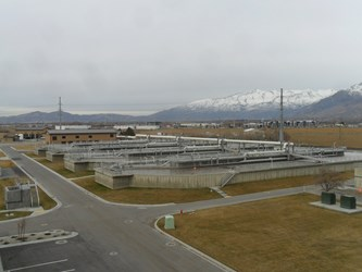 The newly expanded WWT Facility in American Fork, Utah, where Landia has completed a successful pump and mixer retrof