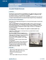 Flexible Containment Solutions Guide: Document Transfer Enclosure