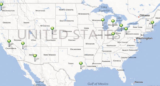 The Top 12 Water Technology Hotspots In America