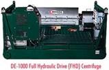 Derrick DE-1000 Full Hydraulic Drive Centrifuge