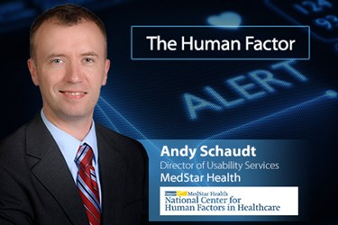 The Human Factor - Andy Schaudt, MedStar Health