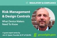 The Design Controls + Risk Management Connection — Verification, Validation, & Risk Controls