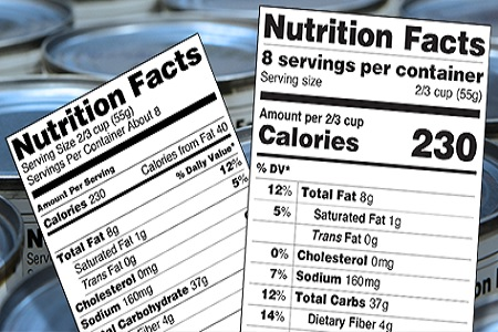 New Nutrition Fact Labels