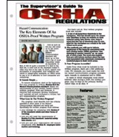 The Supervisor's Guide To OSHA Regulations®