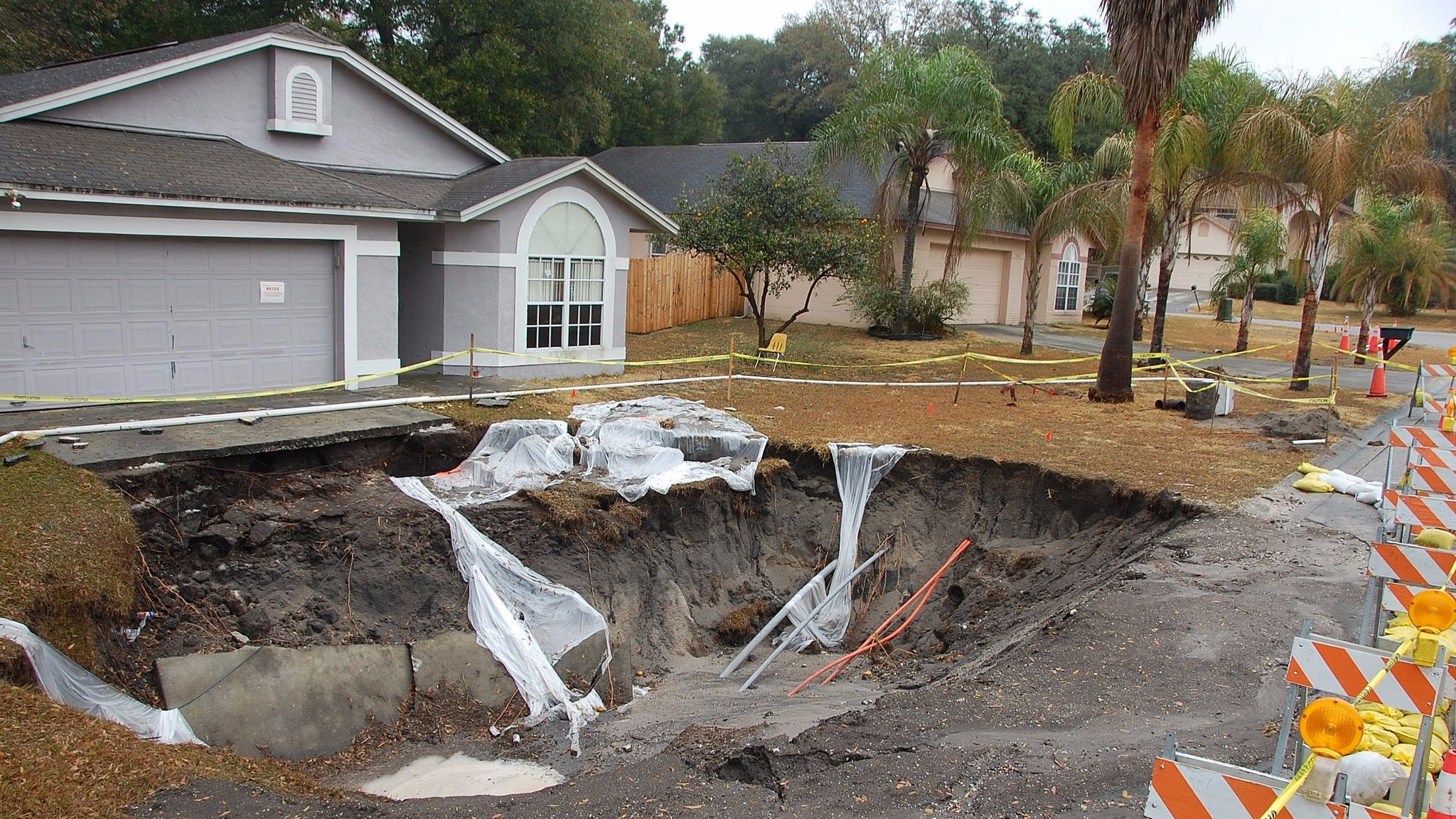Man-Eating Sinkholes And Other Florida Water Shortage Crises
