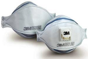 3m n95 particulate respirator masks 9211