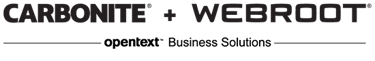 Webroot - an opentext company - logo2