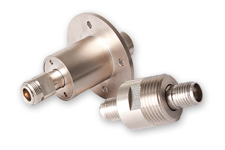 Precision RF Rotary Joints