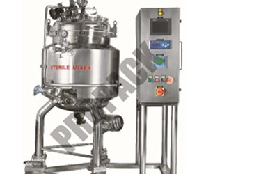 Sterile Blending Vessels for Pharmaceutical Manufacturing