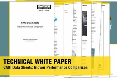CAGI Data Sheets: Blower Performance Comparison Technical White Paper