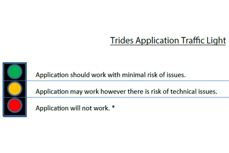 Trides Application Traffic Light