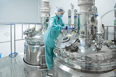 Pharmaceutical Factory sterile tanks 2
