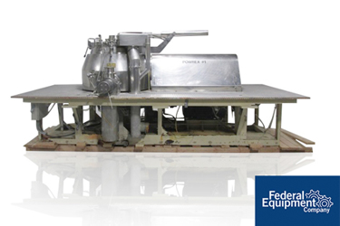 Used Glatt Powrex 600 Liter High Shear Pharmaceutical Mixer