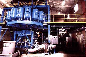 Continuous Adsorption Ion Exchange System