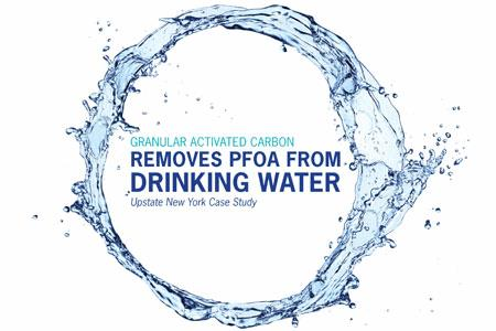 Granular Activated Carbon Removes PFOA From Drinking Water