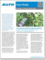 Pine Islands Nursery - Harvesting The Benefits Of Better Labeling