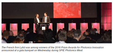 Prism Awards For Photonics Innovation Honors Nine Companies For Outstanding New Products