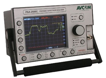 Portable Spectrum Analyzer: PSA-2500C