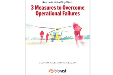 biorasi Rescue Is Not A Dirty Word: 3 Measures To Overcome Operational Failures