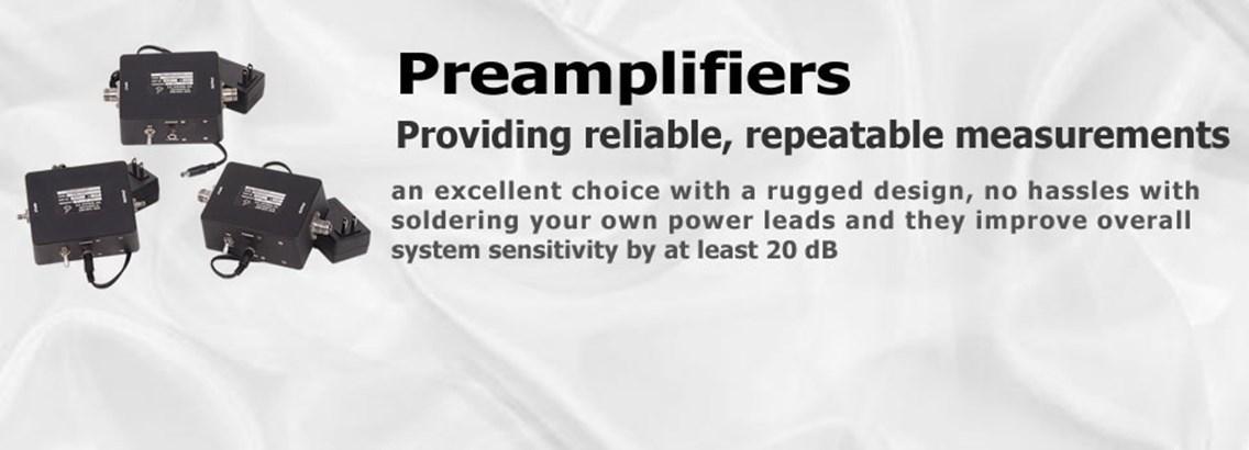 <B>Low Noise Preamplifiers</b>