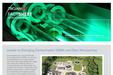 NDMA and Other Nitrosamines (Fact Sheet)