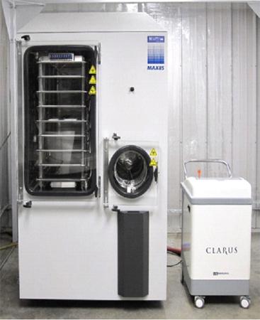 Freeze Dryer Sterilization Using H2O2