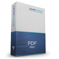 LEADTOOLS PDF Pro Developer Toolkit