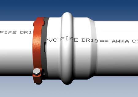 Ebaa Iron 5000 Series Mega Stop Pvc Pipe Bell Protection