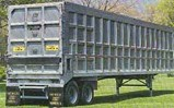 Live Floor/Compactor Compatible Trailer