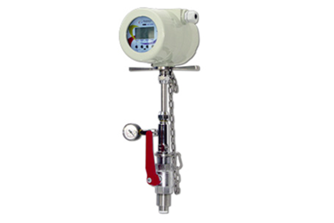 Insertion mag meter for portable installations from Flow Techology