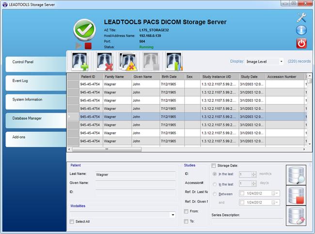 PACS Imaging Developer Toolkit