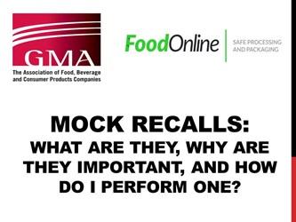 Mock Recalls