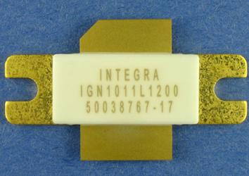 GaN L-Band Avionics Transistor: IGN1011L1200
