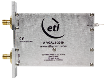 L-Band Variable Gain Amplifiers