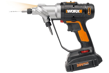 New WORX PowerShare System Enables Single 20-Volt Battery To Power