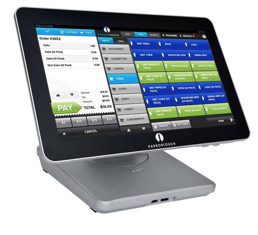 Harbortouch unveils new built for purpose tablet pos killer for Designhotel definition