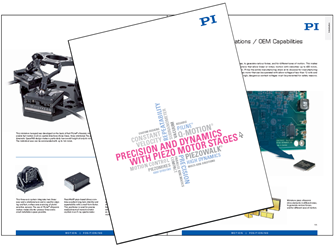 160 Page Catalog n Piezo Linear Motors, Rotation Stages, And Multi-Axis Motion Systems