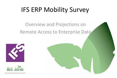 IFS ERP Mobility Survey