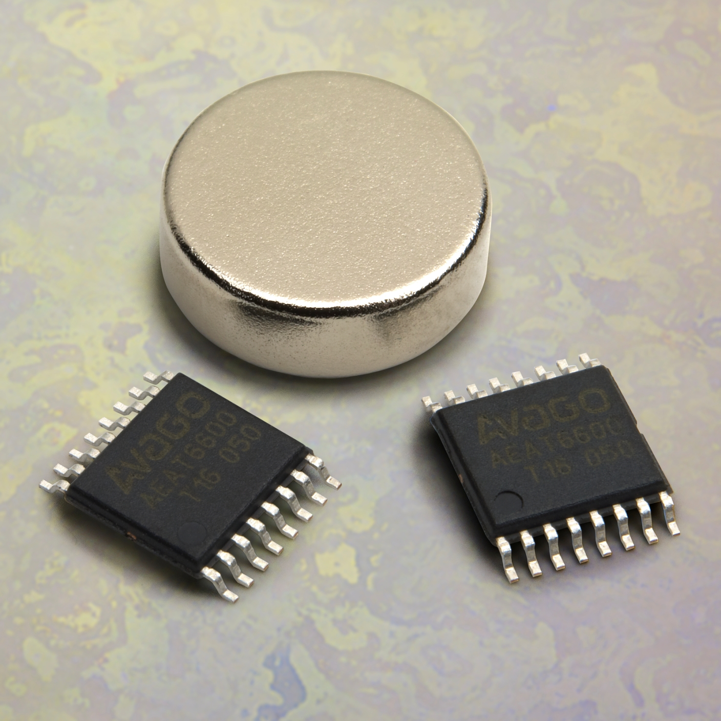 Highest Resolution Hall Effect Magnetic Encoder For Industrial Sensor Ic Sensors Current Circuit Applications Aeat 6600 T16