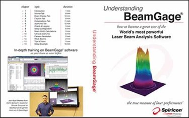 Ophir-Spiricon Announces New Training Tools For BeamGage®, Laser Beam Profiling System