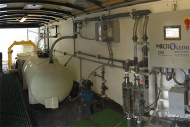 Monoclor Chloramine Residual Management System