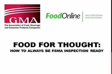 How To Always Be FDA Inspection Ready