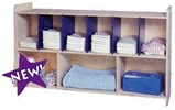 Toddler Diaper Supply Wall Unit