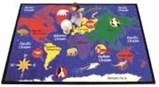 World Explorer Kid Carpet