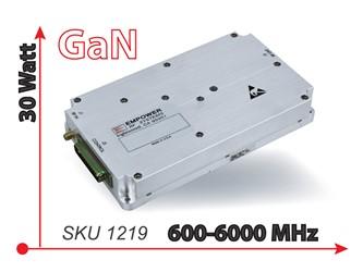 600-6000 MHz 30 W GaN Module: SKU 1219