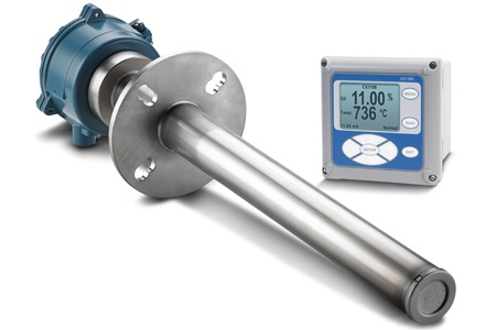 New Emerson Combustion Control Analyzer For Small And