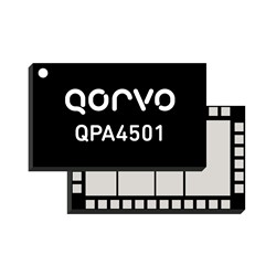 4.4 – 5.0 GHz GaN Power Amplifier Module: QPA4501